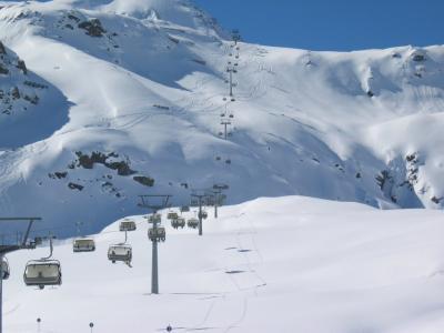 Skifahrer sschätzen das Skigebiet Hohe Tauern
