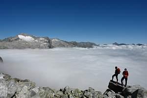 Im Nationalpark Hohe Tauern gibt es herrliche Wandermöglichkeiten